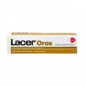 Lacer oros accion integral pasta dentifrica (1 envase 75 ml)
