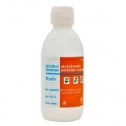 ALCOHOL ALCANFORADO ORRAVAN SOLUCION CUTANEA , 1 frasco de 250 ml