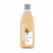 Mussvital gel de baño almendras dulces mussvitin (750 ml)
